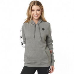 BLUZA FOX LADY Z KAPTUREM TEAM FOX HEATHER GRAPHITE