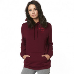 BLUZA FOX LADY Z KAPTUREM ARCH CRANBERRY