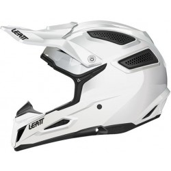 KASK LEATT GPX 5.5 SOLID WHITE COMPOSITE