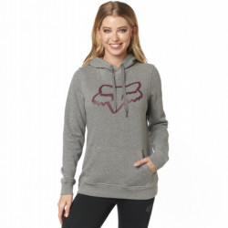 BLUZA FOX LADY Z KAPTUREM CENTERED HEATHER GRAPHITE