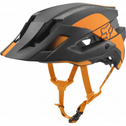 KASK ROWEROWY FOX FLUX MIPS CONDUIT ATOMIC ORANGE