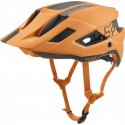 KASK ROWEROWY FOX FLUX RUSH ATOMIC ORANGE