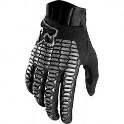 GLOVES FOX DEFEND BLACK/GREY
