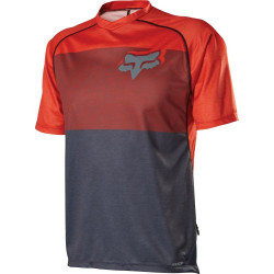 FOX INDICATOR PRINTS HEATHER GRAPHITE ORANGE Jersey