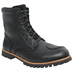 IXS OLIED LEATHER BLACK BOOTS