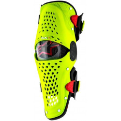 ALPINESTARS SX-1 BLACK/FLUO YELLOW KNEE GUARD