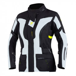 REBELHORN HARDY II LADY JACKET GREY/BLACK/FLO YELLOW