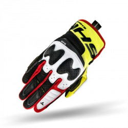 SHIMA BLAZE GLOVES RED FLUO YELLOW