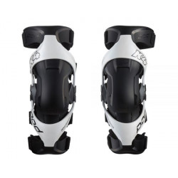 POD K4 2.0 PREMIUM KNEE BRACES WHITE/BLACK