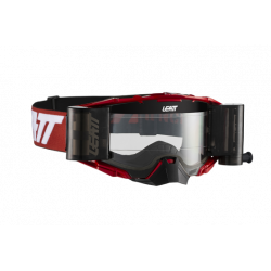 LEATT VELOCITY 6.5 GOGGLE ROLL-OFF RED/WHITE CLEAR