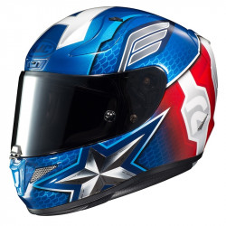 KASK HJC R-PHA 11 CAPTAIN AMERICA BLUE/RED
