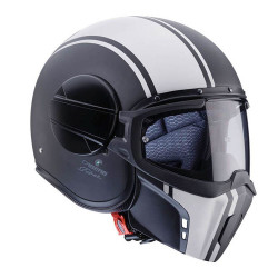 CABERG GHOST LEGEND HELMET BLACK MAT/WHITE