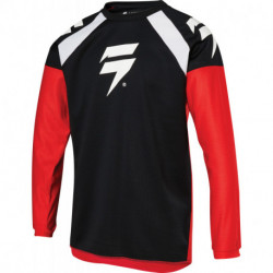SHIFT JUNIOR WHIT3 RACE JERSEY RED/BLACK