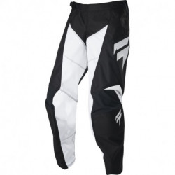 SHIFT JUNIOR WHIT3 RACE PANTS BLACK/WHITE