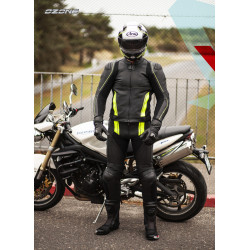OZONE VOLT JACKET BLACK/FLO YELLOW