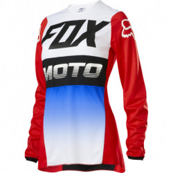 FOX LADY 180 FYCE JERSEY BLUE/RED