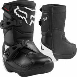 FOX JUNIOR COMP K BLACK BOOTS