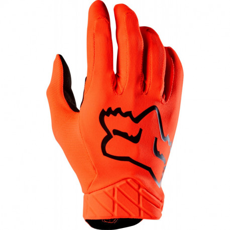 GLOVES FOX AIRLINE FLO ORANGE