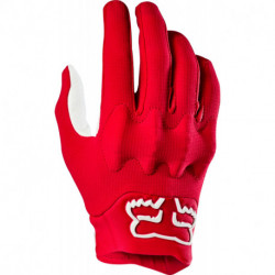 GLOVES FOX BOMBER LT FLAME RED