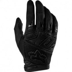 GLOVES FOX DIRTPAW RACE BLACK/BLACK