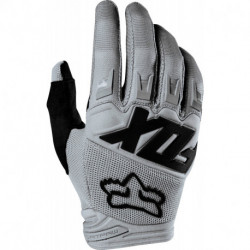 GLOVES FOX DIRTPAW RACE GREY