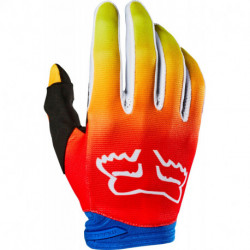 GLOVES FOX JUNIOR DIRTPAW FYCE BLUE/RED