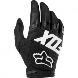GLOVES FOX JUNIOR DIRTPAW RACE BLACK