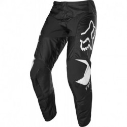 FOX JUNIOR 180 PRIX PANTS BLACK/WHITE