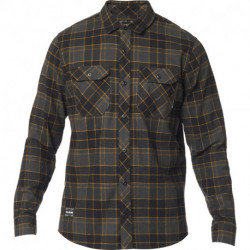 KOSZULA FOX TRAILDUST 2.0 FLANNEL BLACK