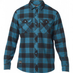 KOSZULA FOX TRAILDUST 2.0 FLANNEL MAUI BLUE