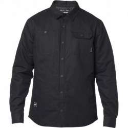 KOSZULA FOX MONTGOMERY LINED WORK SHIRT BLACK