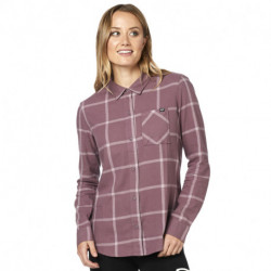 KOSZULA FOX LADY ROOST FLANNEL PURPLE