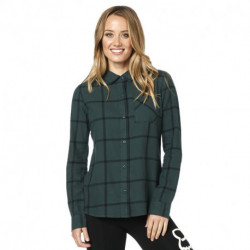 KOSZULA FOX LADY ROOST FLANNEL EMERALD