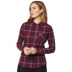 KOSZULA FOX LADY ROOST FLANNEL CRANBERRY