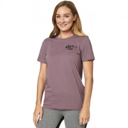 T-SHIRT FOX LADY MOJAVE PURPLE