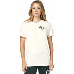 T-SHIRT FOX LADY MOJAVE BONE