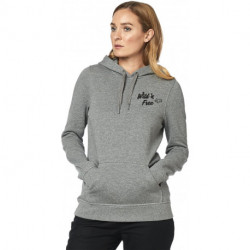 BLUZA FOX LADY Z KAPTUREM PIONEER HEATHER GRAPHITE