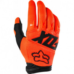 GLOVES FOX JUNIOR DIRTPAW RACE FLO ORANGE