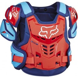 BUZER FOX ADULT RAPTOR VEST BLUE/RED