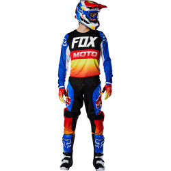FOX 180 FYCE BLUE/RED MX20 GEAR SET