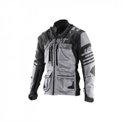 LEATT GPX 5.5. ENDURO JACKET BLACK/GREY