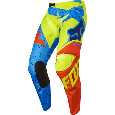 PANTS FOX JUNIOR 180 NIRV YELLOW/BLUE
