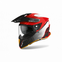 AIROH COMMANDER PROGRESS LIMITED RED GLOSS EDITION HELMET