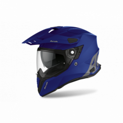 AIROH COMMANDER COLOR BLUE MATT HELMET