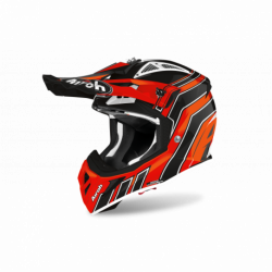 AIROH AVIATOR ACE ART HELMET ORANGE GLOSS