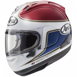 KASK ARAI RX7V SPENCER 40TH RED
