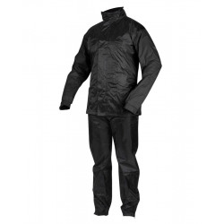REBELHORN RAIN WATERPROOF SUIT BLACK