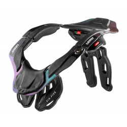 LEATT BRACE GPX 6.5 CARBON/HOLOGRAM NECK BRACE