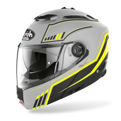 AIROH PHANTOM S BEAT HELMET YELLOW MATT