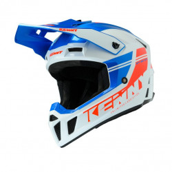 KASK KENNY PERFORMANCE BLUE WHITE RED 2020